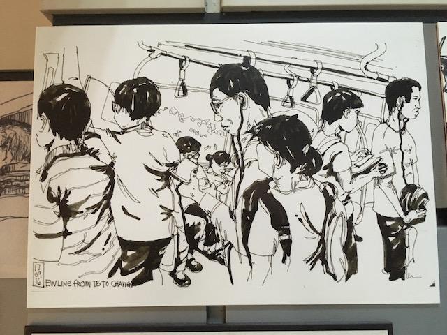 Singapore Sketch Commute