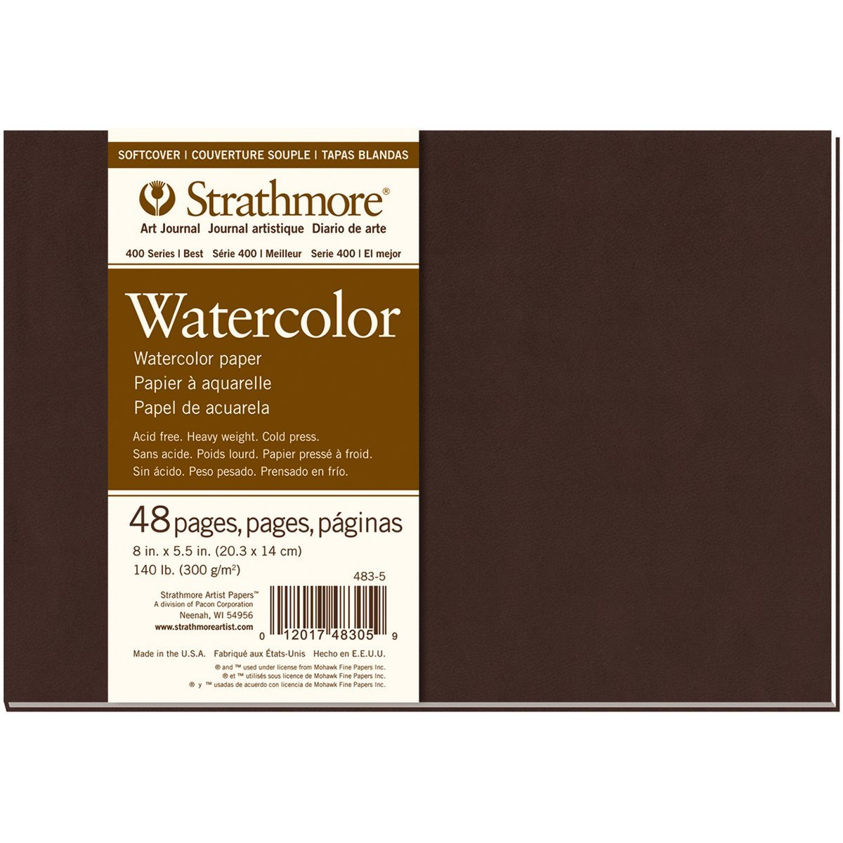 Strathmore Watercolor Sketchbook Review