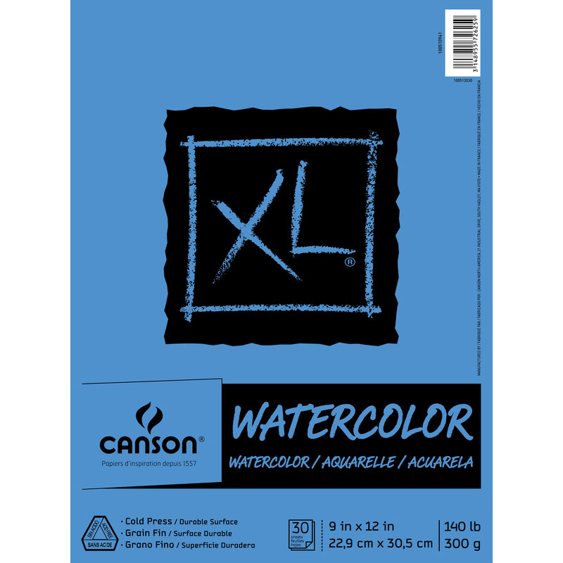 Canson Watercolor XL Series Sketchbook Review