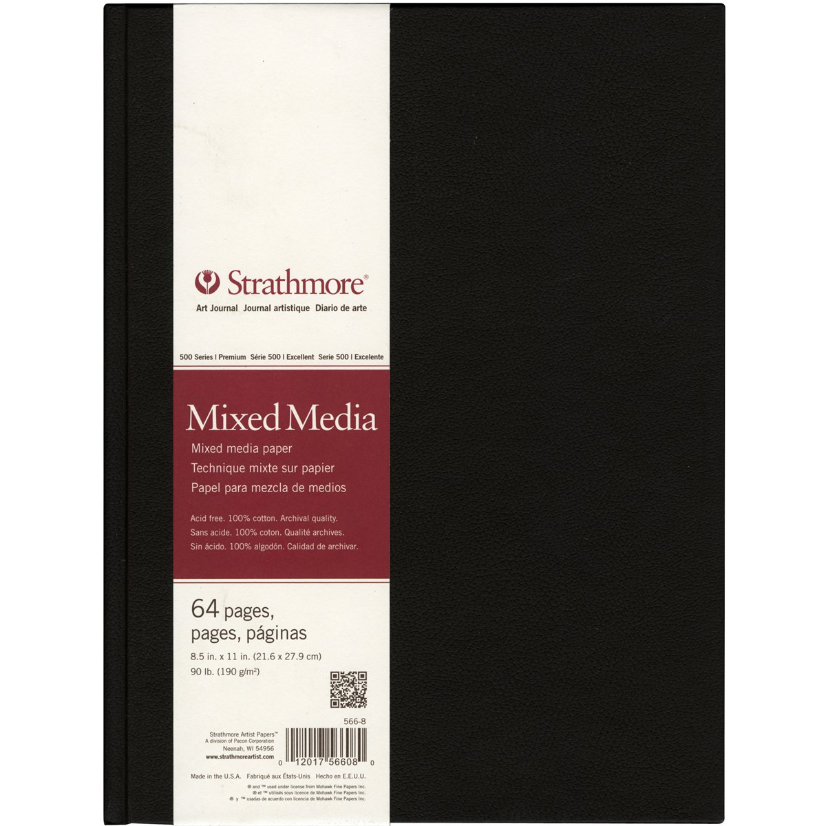 Recommended art journal sketching supplies: Strathmore mixed media sketchbook