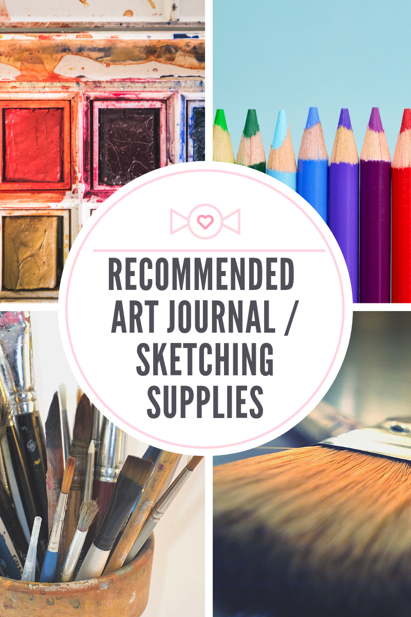 Recommended art journal sketching supplies for beginners to advanced artists
